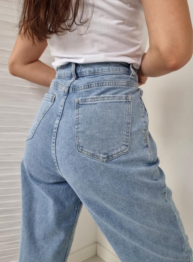 Jeansowe ogrodniczki MILANO
