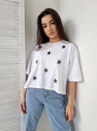 T-shirt STELLA biały