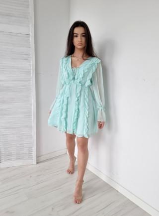 Sukienka OTAVIA niebieska