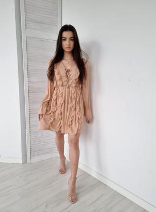 Sukienka OTAVIA beż