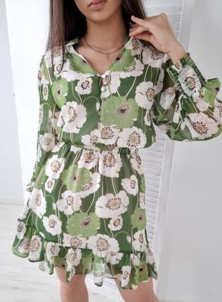 Sukienka IRIS zielona