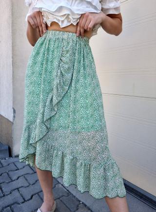 Spódnica NARCISO zielona