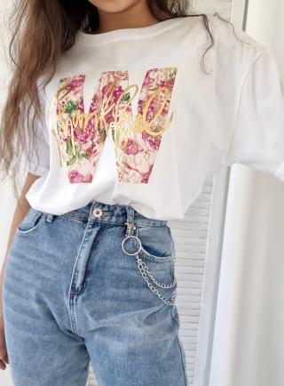 T-shirt ASTRO biały