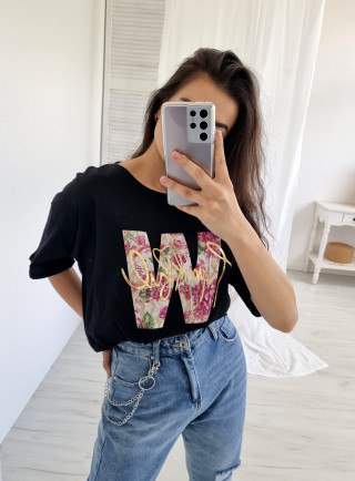 T-shirt ASTRO czarny
