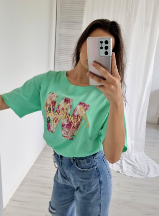 T-shirt ASTRO zielony