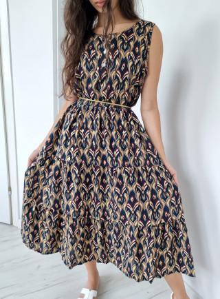 Sukienka midi wiskoza ADDA...