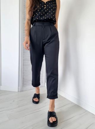 Spodnie wizytowe ROCHER czarne