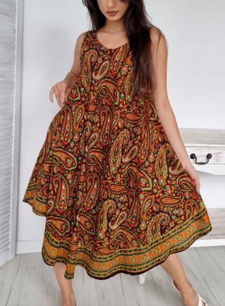Sukienka jedwab...