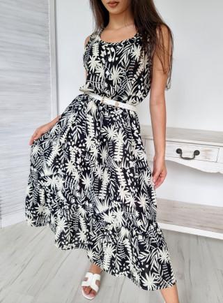 Sukienka midi wiskoza RENO...