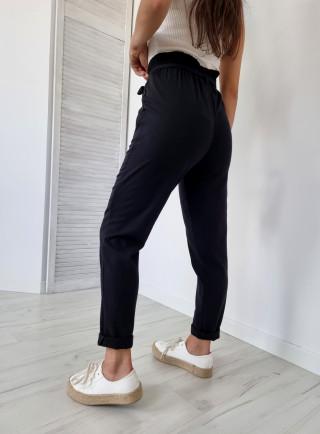 Bawełniane spodnie rurki