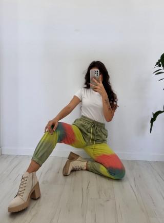 Spodnie dresowe TULLO zielone
