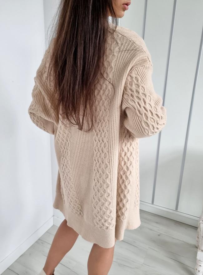 Sweter PISTOL szary
