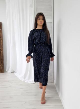 Sukienka maxi STELLE czarna