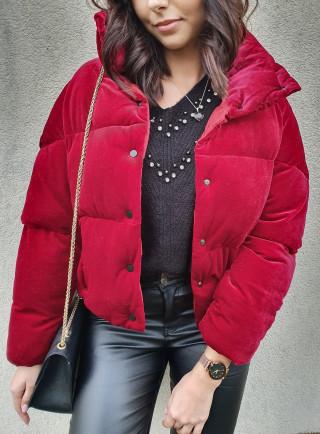 Sweterek SILVER czerwony