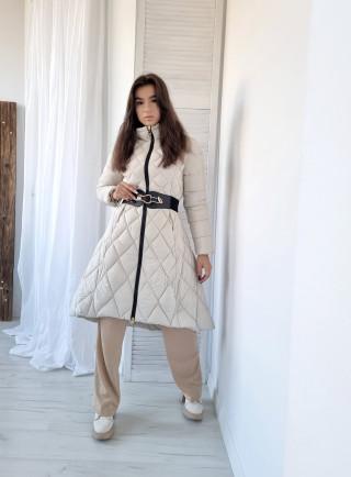 Bawełniana sukienka LENNY size+ granat