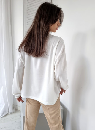 Bluzka z perełkami ANAIS czarna