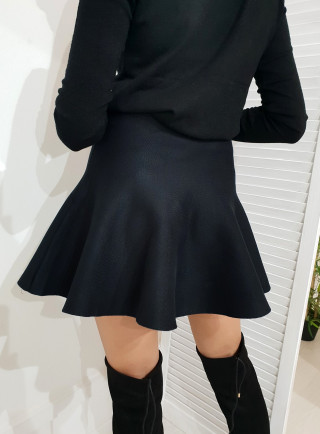 Spódnica WAVES czarny