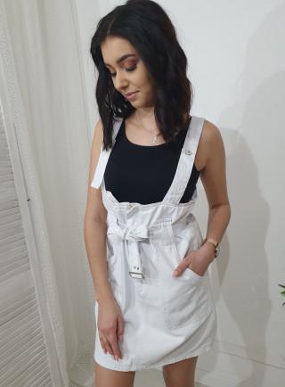 Spódnica jeans KANGOO biała