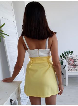 Spódnica NICOLE żółta