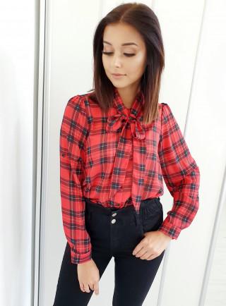 Koszula AVENA czerwona