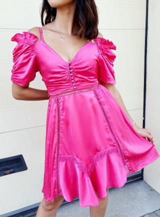 Sukienka PANAMA róż