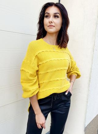 Sweter MATTEO żółty