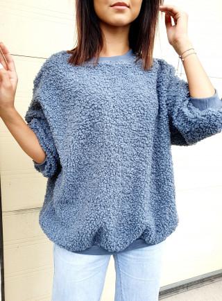 Bluza INES niebieska