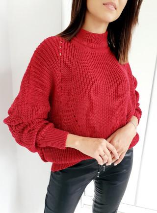Sweter AULUS bordo