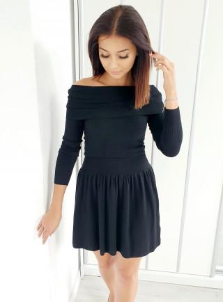 Sukienka CASANDRA czarna