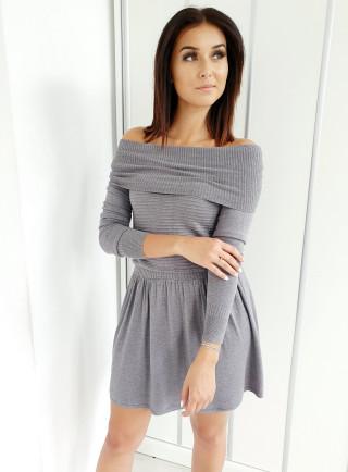 Sukienka CASANDRA szara