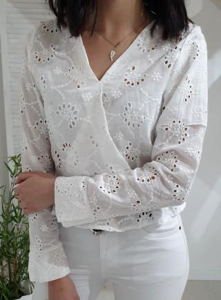 Bluzka CASABLANCA biała