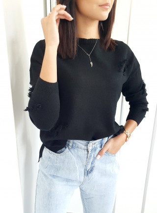 Sweter OVIEDO czarny