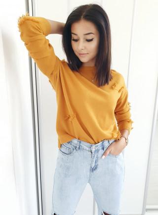 Sweter OVIEDO żółty