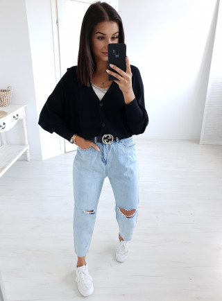 Sweter TINTO czarny