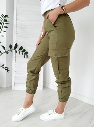 Spodnie DOWN khaki