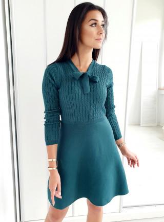 Sukienka MEISA zielona