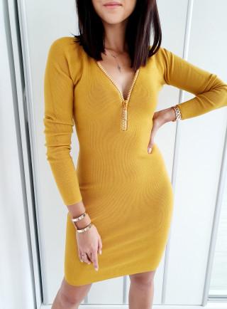 Sukienka ANTHONIA żółta