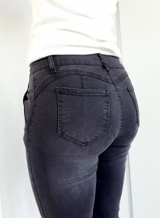 Spodnie FENDI jeans grafit