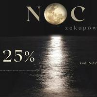 START: 22.04 godzina 20:00 🌚  Kod: NOC25   #noczakupów #noc #zakupy #promocja #nocnezakupy #okazja #fashion #ottanta #czasdlasiebie #moda