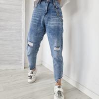 Już niebawem te genialne spodnie, które widzicie na zdjęciu, pojawią się na naszej stronie 🖤!  *Jutro ruszamy z promocją - 15% z kodem: denim na wszystkie spodnie 🤩  #comingsoon #new #newpost #nowości #jeans #denim #sale #promocja #slouchy #ottanta #skleponline #modaonline #polishgirl #instaphoto