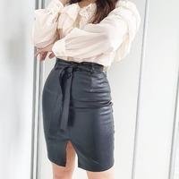Spódnica Eleni w czarnym kolorze 🖤 Klasyka 👌 #ottanta #classicstyle #black #skirt #new #eleni #leather #ecoskóra