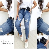 ✖ - 15% z kodem: GONZO na cały asortyment ✖  #promocja #zakupy #ottanta #jeans #spodnie #bluzka #biały #niebieski #fashion #moda #spring #wiosna #brunette #ootd